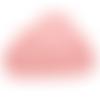 Anneau de dentition nuage en silicone alimentaire sans bpa 90x62mm - rose