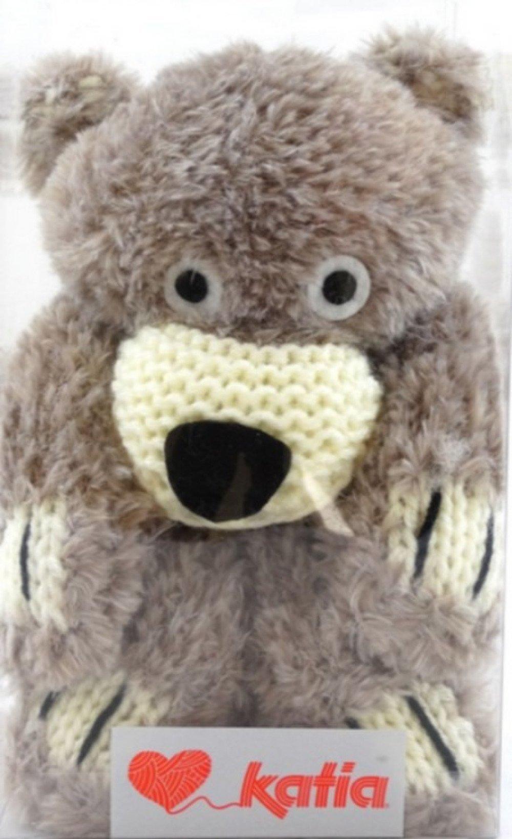 Kit Echarpe couleur 51 Teddy Bear Katia
