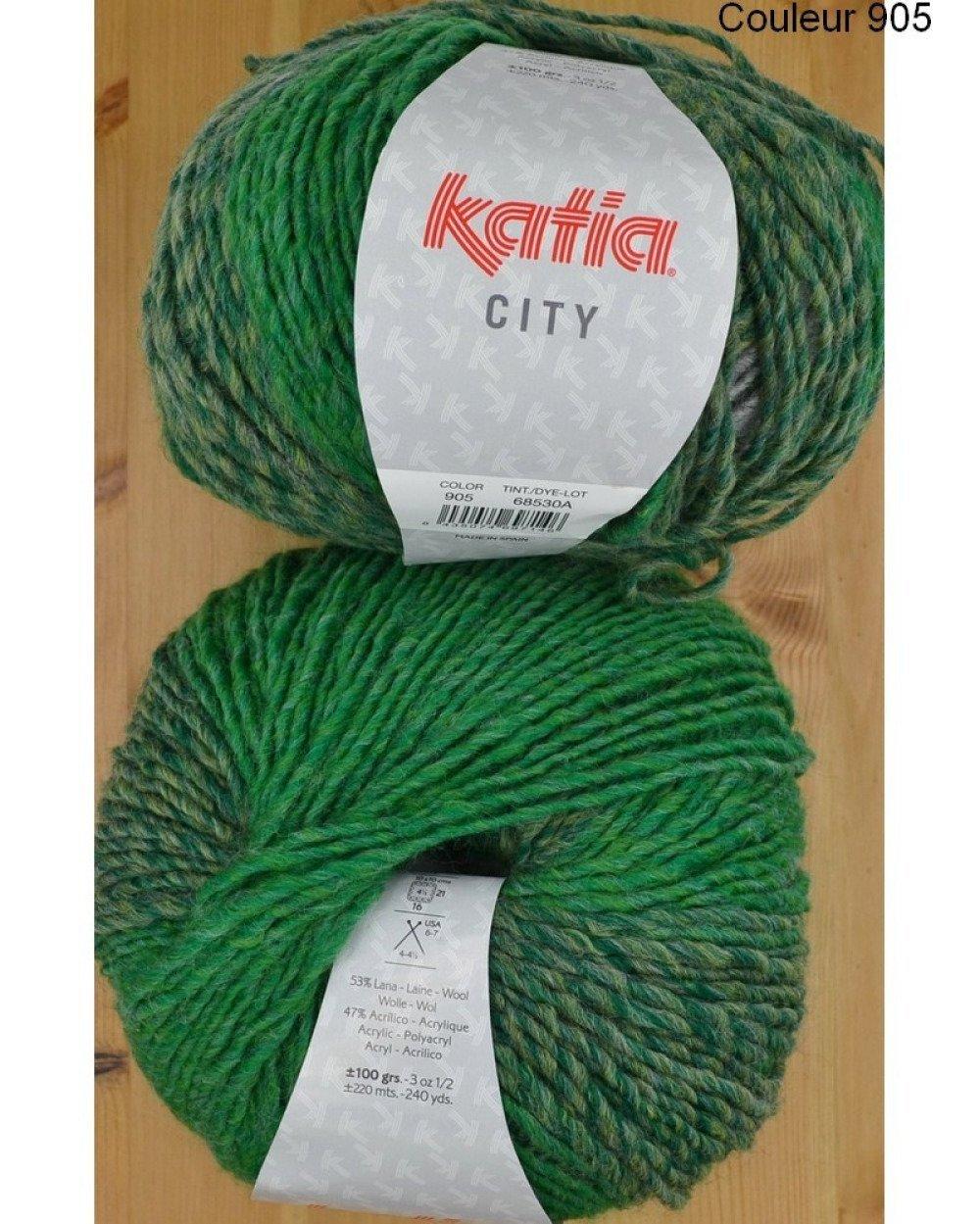 City couleur 905 Laine Katia
