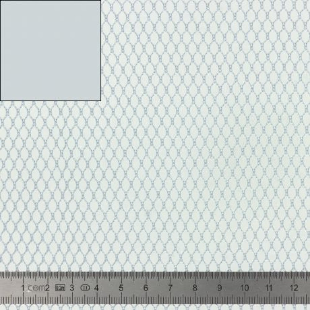TISSU FILET -  MESH FABRIC gris