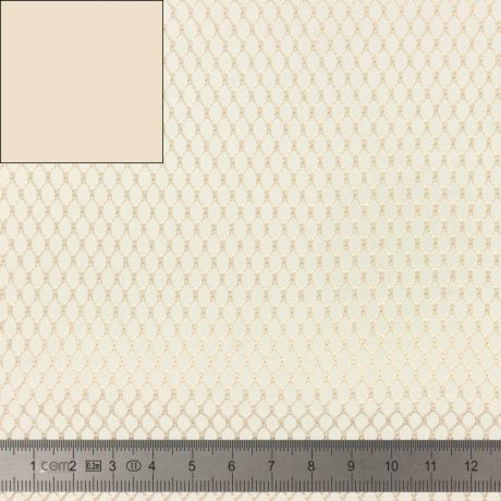 TISSU FILET -  MESH FABRIC beige