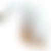 Fermeture à glissière 75 cm injecté double curseur blanc
