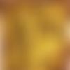 Mini pince à linge en bois jaune