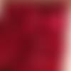 Mini pince à linge en bois rouge