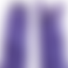 Fermeture à glissière 60 cm violet séparable