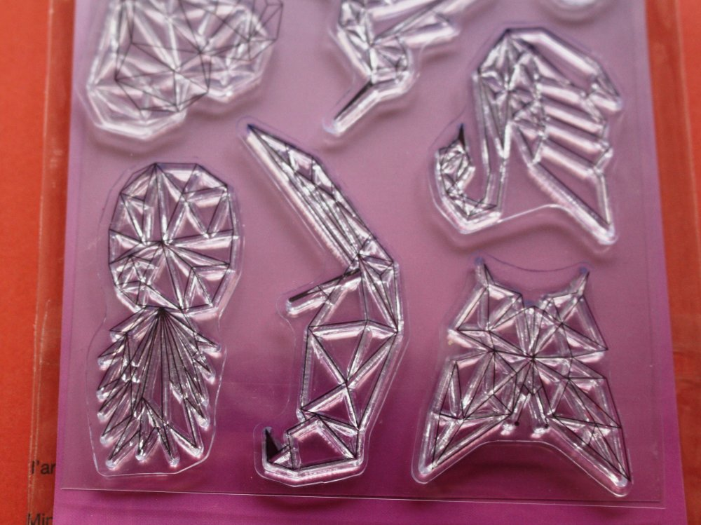 Set de tampons à monter - Collection Origami