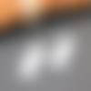 Pendentif plaque rectangulaire acier inoxydable à graver
