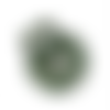 1 stop cordon boule - 15 mm - kaki