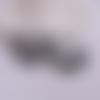 1 pendentif breloque - fleurs - filigrane - laser cut