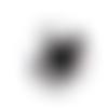1 cabochon en verre - 25 mm - bouledogue - chien