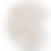 Feuille simili cuir imprimé - tipi - renard - cerf - raton laveur - 30 x 30 cm