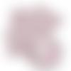 Feuille simili cuir imprimé - licorne - 20 x 34 cm