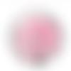 1 cabochon en verre - 25 mm - arbre de vie