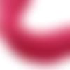 Lot de 100 perles heishi - rondelles en pâte polymère - 6 mm - fuchsia