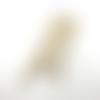 1 chaîne de sac - 120 cm - couleur dorée