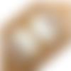 1 pendentif rond - bois - acrylique - 50 mm