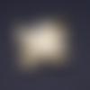1 breloque pendentif - hiboux doré - acier inoxydable