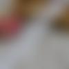 Ruban en dentelle fine - 58 mm - blanche -  vendu au mètre