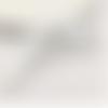 1 pendentif - grande aile - filigrane - argenté