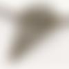 1 pendentif - fantaisie - filigrane - couleur bronze