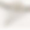 1 pendentif - fantaisie - filigrane - couleur argenté
