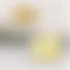 1 pendentif - fantaisie - filigrane - couleur doré