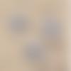 1 breloque - pendentif  arbre de vie - etoile - métal couleur argenté