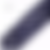 Lot de 5 perles rondes en goldstone - bleu nuit scintillant - 10 mm