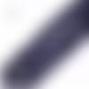 Lot de 5 perles rondes en goldstone - bleu nuit scintillant - 8 mm
