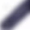 Lot de 10 perles rondes en goldstone - bleu nuit scintillant - 6 mm