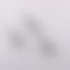 1 breloque - pendentif  kangourou - métal couleur argenté