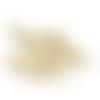 10 breloques pointes cônes - steampunk - métal couleur doré