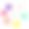 1 enfile aiguille forme fleur - couleur aléatoire
