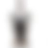 1 col - encolure - plastron - dentelle - noir - cp-n-02