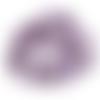 Perle améthyste chips - parme - lot de 10 - ref-p-1121