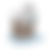 Transfert thermocollant - chien dalmatien - 12 cm x 12 cm
