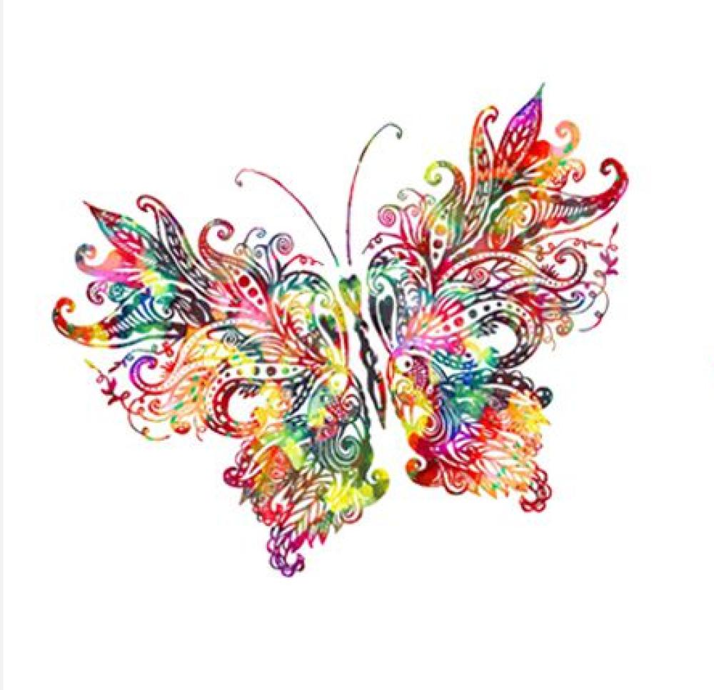 Transfert Thermocollant - Papillon - 11.6 cm x 10 cm