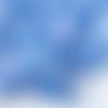 1 coupon de tissu flèches - bleu - 50 x 80 cm