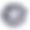 Perle de gemme ronde - lot de 10 - 6 mm - ref-p-1145