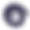 Perle de gemme ronde - lot de 10 - 6 mm - p1155