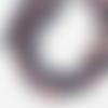 Perle de gemme ronde - lot de 10 - 6 mm - ref-p-1156