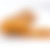 Ruban élastique plat - orange pâle - 6 mm