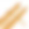 1 collier chaîne - acier inoxydable -  couleur métal doré - 45 cm