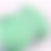 Ruban élastique plat - vert tendre - 6 mm