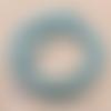 1 chapelet perles heishi - rondelles en pâte polymère - 6 mm - vert tacheté