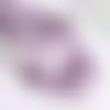 Perles chips améthyste - lot de 30 - ref p-1206