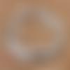 30 perles hématites - perles entretoise - couleur argenté