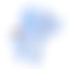 1 anneau de dentition - éléphant bleu en silicone