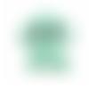 1 perle en silicone - eléphant - vert