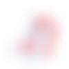 1 anneau de dentition - licorne en silicone - rose